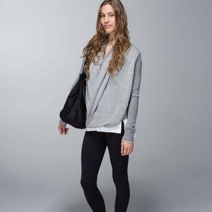 Lululemon | Iconic Sweater Wrap Heathered Grey